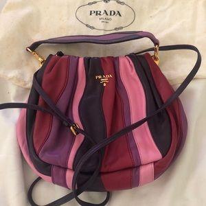Prada leather multi-colored bag